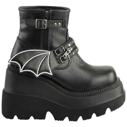 Batwing Ankle Boots