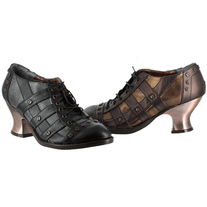 Lady Jade Steampunk Shoes