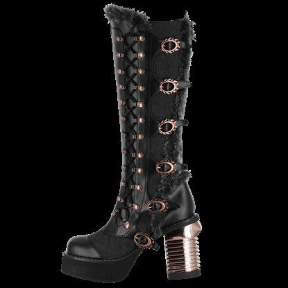 Langdon Steampunk Boots