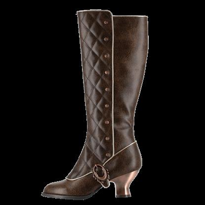 Victoriana Steampunk Boots