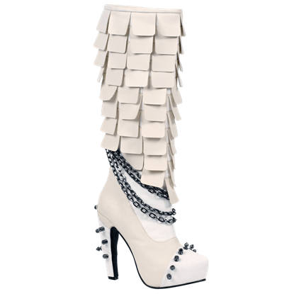 Caymene Scaled Boots