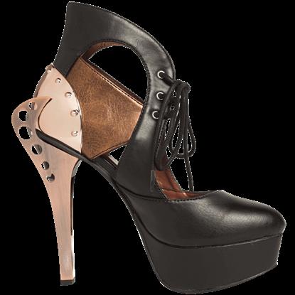 Asmara Steampunk Platform Heels