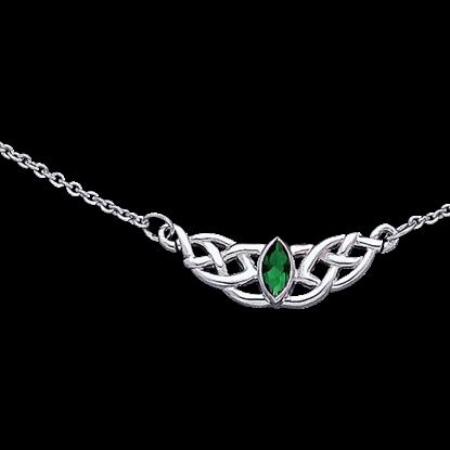 Charming Celtic Knotwork Necklace