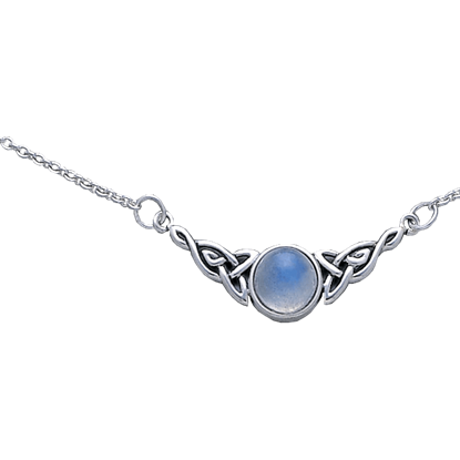 Celtic Moonstone Necklace