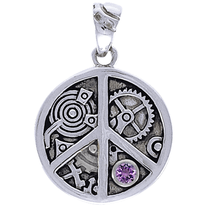 Clockwork Peace Pendant