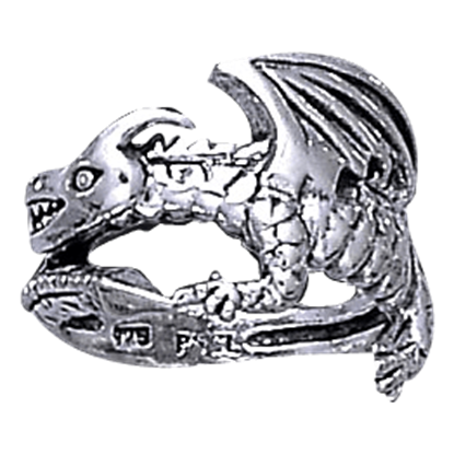 Coiled Dragon Ring