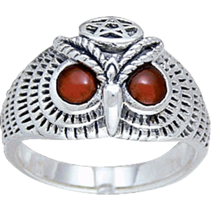 Wise Owl Ring