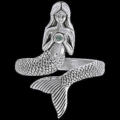 Mermaid Magic Wrap Ring