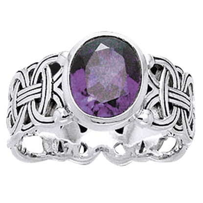 Borre Knot with Gem Ring