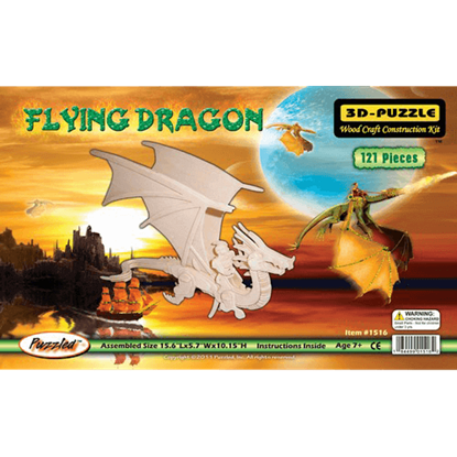 Flying Dragon 3-D Puzzle