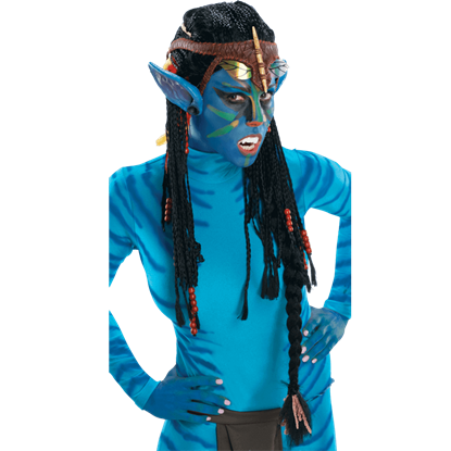 Neytiri Deluxe Adult Wig with Ears from Avatar