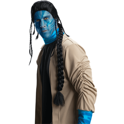 Jake Sully Adult Wig from Avatar