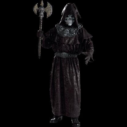 Mens Evil Warlock Costume