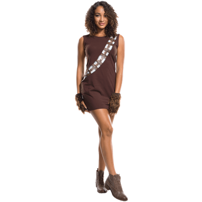 Adult Chewbacca Rhinestone Tank Dress