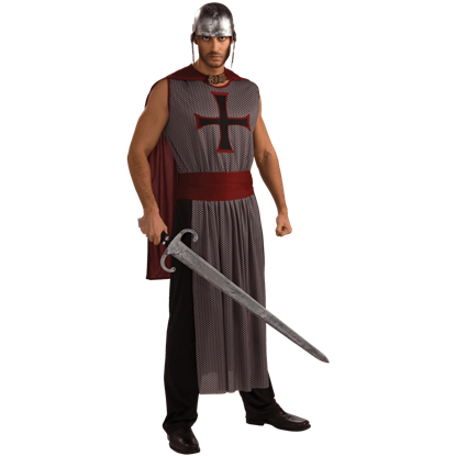 Mens Crusader Costume