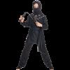 Boys Black Ninja Costume