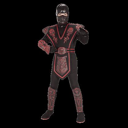 Boys Red Skull Ninja Costume