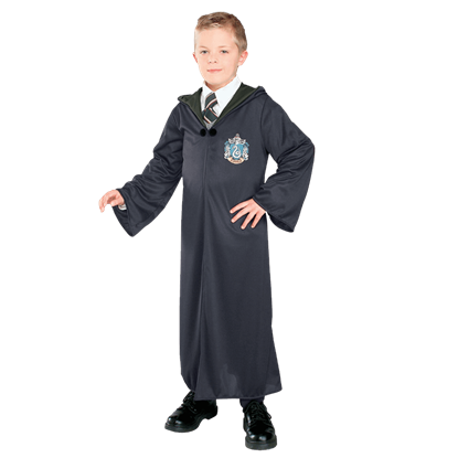 Child's Slytherin Robe from Harry Potter