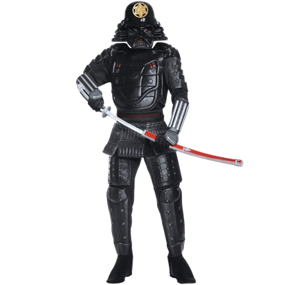 Adult Darth Vader Samurai Costume