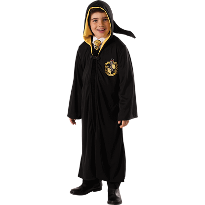 Childs Harry Potter Hufflepuff Robe