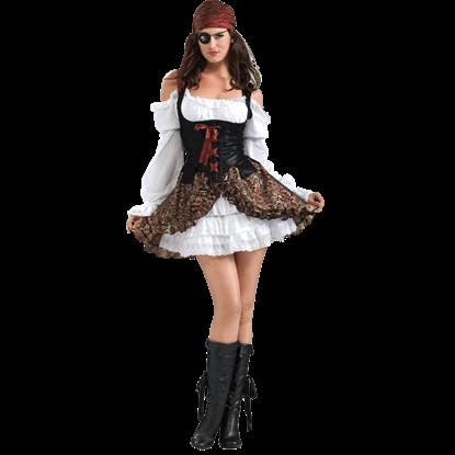 Womens Buccaneer Babe Costume