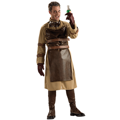 Mens Steampunk Scientist Costume