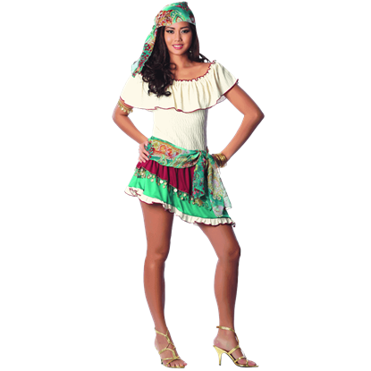 Gypsy Rose Costume