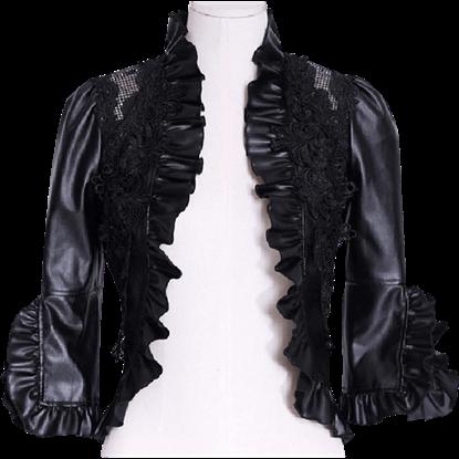 Gothic Ruffled Bolero Jacket