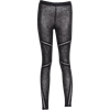 Gothic Crisscross Lace Leggings