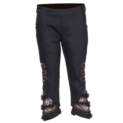 Steampunk Three-Quarter Pants