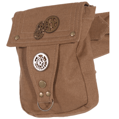 Steampunk Belted Pouch