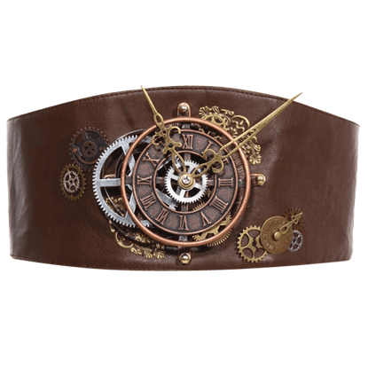 Steampunk Clock Belt