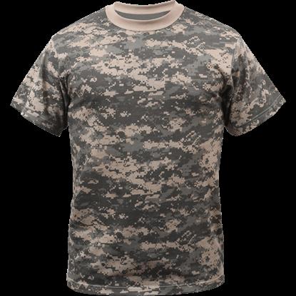 ACU Digital Camo Military T-Shirt