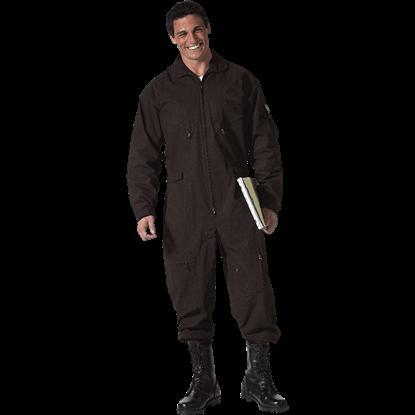 Tactical Black Military Flightsuit