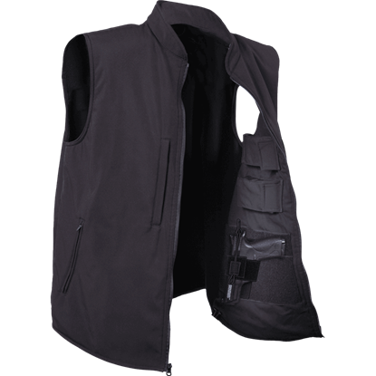 Black Conceal and Carry Vest