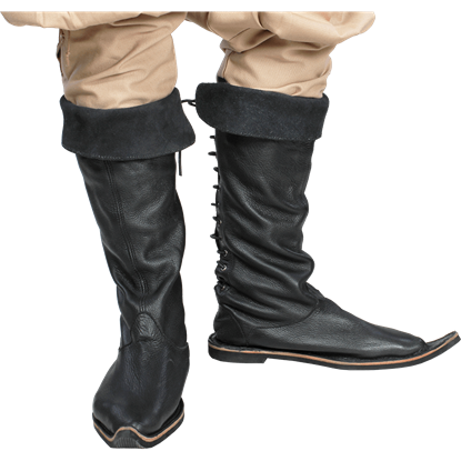 Medieval Travelers Boots