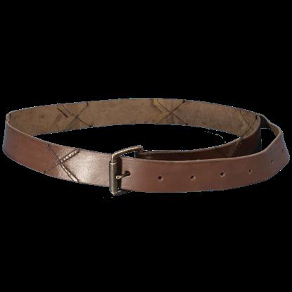 Leather X Belt