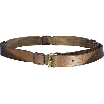 Arthurian Leather Belt