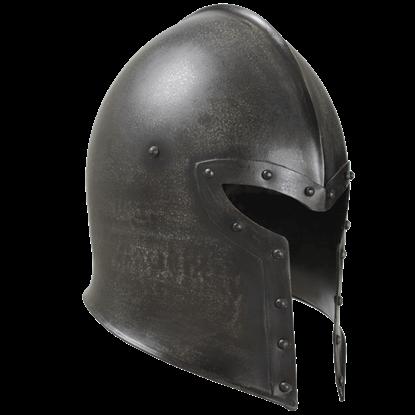 Epic Dark Barbuta Helmet