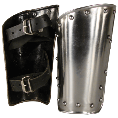 Steel Warrior Arm Bracers