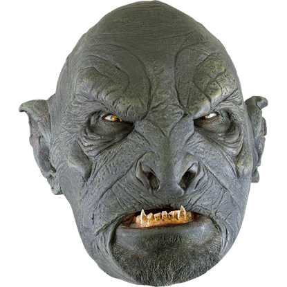 Monstrous Green Orc Mask