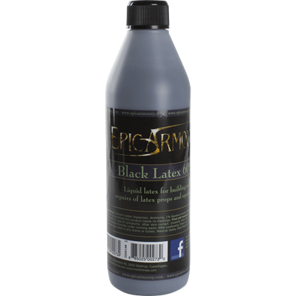 Black Liquid Latex - 500ml