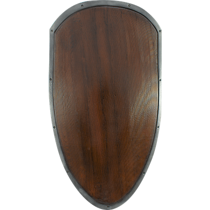 Ready For Battle Large Woodgrain Shield