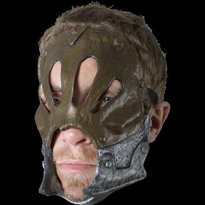 Copper Berserker Trophy Mask