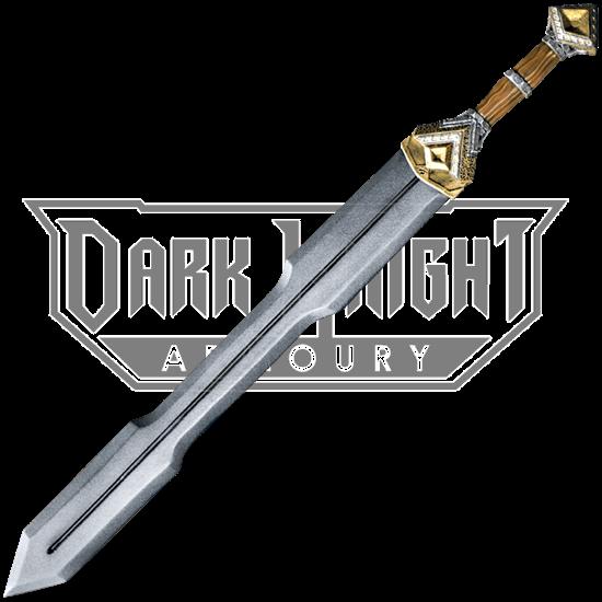 Dwarf Double Edge LARP Sword