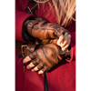 Leather Celtic Gloves