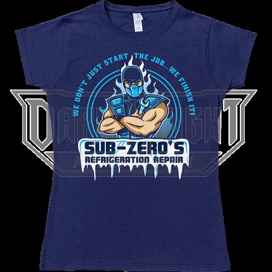 Sub Zero Refrigeration Womens T-Shirt