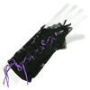 Short Laced Gothic Glovettes