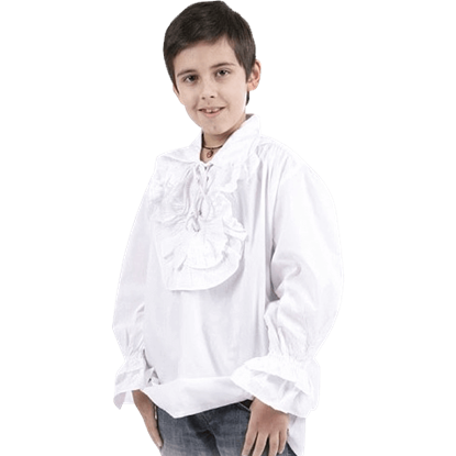Boys Ruffled Renaissance Shirt