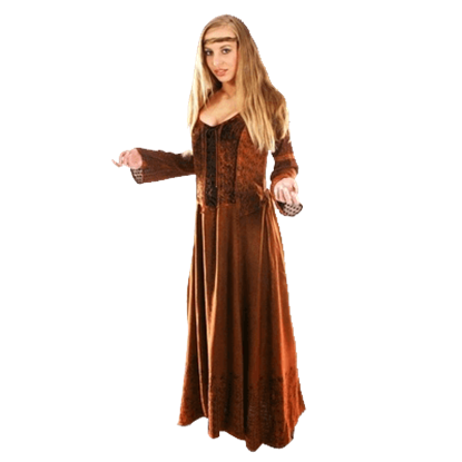 Celtic New Age Dress